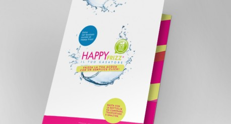 Design cartelletta Happy Frizz