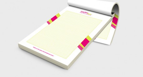 Design block notes coordinato